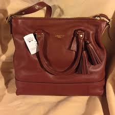 NWT coach legacy leather cognac Rory satchel 19892