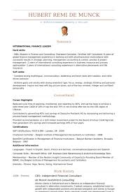 Financial Consultant Resume Samples Visualcv Resume Samples Database ...