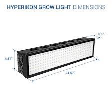Lights Of America 24 Inch Grow Light Hyperikon Led Grow Light 5w X 180 Chips Cob 400w Max