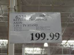 bayside furnishings axon in tv stand costco with costco tv stand