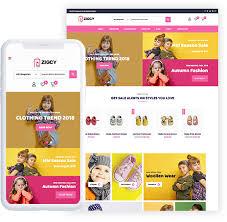 Free Baby And Kids Store Woocommerce Theme Zigcy Baby
