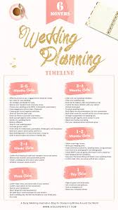 6 Month Wedding Planning Timeline Aisle Perfect How To Plan A Wedding In A Month