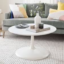 liv coffee table white marble