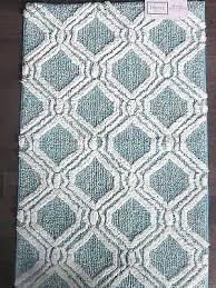 aqua blue bath rugs aqua bathroom rugs fantastic trellis bath rug blue and white bath rug