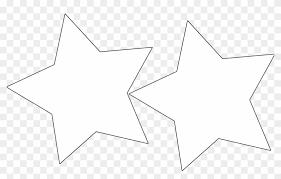Template For A Star Large Star Template Stars Garland Template Free Transparent Png
