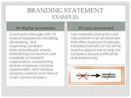 Examples Of Branding Statements For A Resume Personal Branding And Your Resume_1 7 16_final