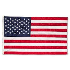 Annin <b>Embroidered American Flag</b> - 3' X 5' : Target