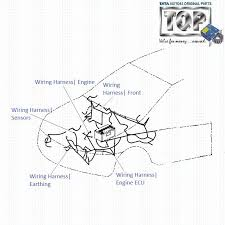 tata indica v2 1 4 dicor engine wiring harness 6 Pin Wiring Harness Diagram wiring harness engine 1 4 dicor indica v2