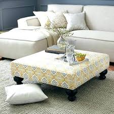 fabric coffee table fascinating tufted ottoman the inside with regard