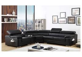 black leather corner sofa lefthand nice