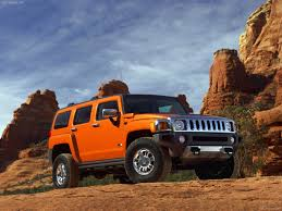 hummer car h3 hd wallpaper. orange hummer h3 wallpaper by carpichd car hd