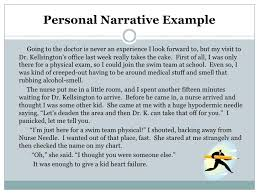 Personal Narrative Essay Examples Essay About Life Essay