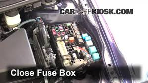 replace a fuse 2011 2016 scion tc 2012 scion tc 2 5l 4 cyl 6 replace cover secure the cover and test component