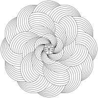 Più Ricercato Disegni Da Colorare E Stampare Mandala Disegni Da