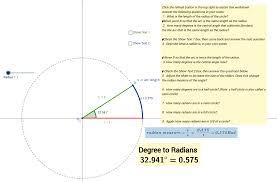 Definition of a Radian - GeoGebra