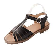 Dfmne Summer Open Toe Sandals Women Ladies Gladiator School