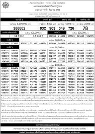 ตรวจหวย 1 สิงหาคม 61 รายงานสด! ผลสลากกินแบ่งรัฐบาลทุกรางวัล ใบตรวจหวย