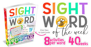 Sight Word Printables - Kindergarten Mom