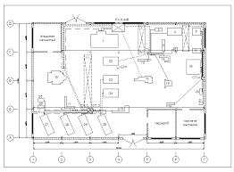 Дипломная работа Электроснабжение завода продольно строгальных  Рис 2 вариант №1 электроснабжения цеха обработки цветных металлов