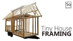 Small Picture Building a Tiny House 2 Framing YouTube