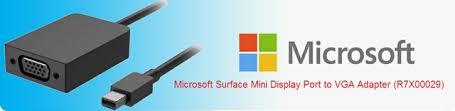 Kết quả hình ảnh cho Microsoft Mini DisplayPort to VGA Adapter