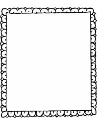 Disegno Di Cornice Da Colorare Per Bambini Disegnidacolorareonlinecom