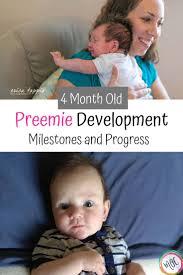 4 Month Old Preemie Development Mamas Organized Chaos