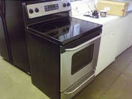 image of electric stove top with grill