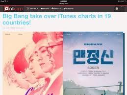 Bigbang Sweeping Charts K Pop Amino