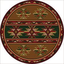 dakota star rug 8 ft round