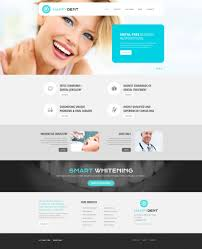 Website Template 52203 Dentistry Dental Custom Website Template