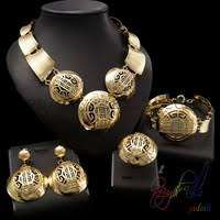<b>Dubai Gold</b> Jewelry Set