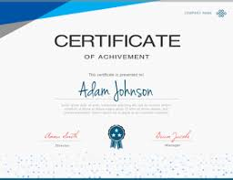 Templates For Certificates 540 Certificate Customizable Design Templates Postermywall
