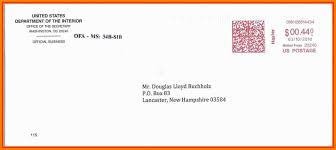 Mail Letter Format Po Box 9 Envelope Address Business