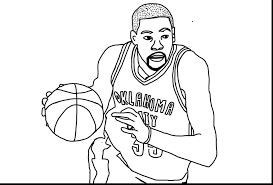 greatest rus westbrook coloring pages kevin durant drawing at getdrawings com free for personal use