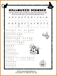 4+ free halloween worksheets   media resumed