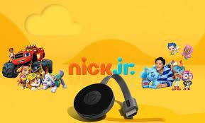 how to chromecast nick jr to tv all