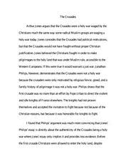 crusades study resources 2 pages essay on the crusades