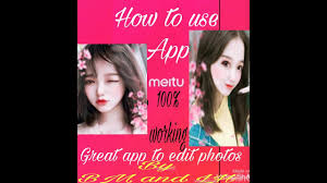 how to use meitu app best app to edito photos make my photos like painting by mb and lh easy life