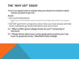 scholarship college essay types common types you iuml sect ldquo tell us the why us essay this is an opportunity to explain why you chose the school or