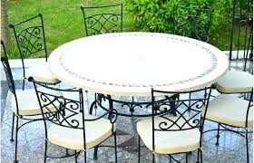 stone top patio table round marble top table modern outdoor ideas medium size marble top patio stone top patio table