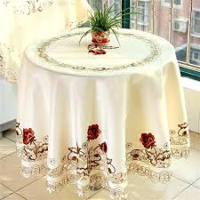 white round tablecloth home and interior extraordinary round table cloths at white tablecloths foot diameter