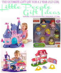 Little People Gift Ideas are perfect for a 2 year old! Best Year Old Girl! \u2022 The Pinning Mama
