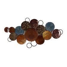 ... Fancy Metal Circle Wall Decor Global Circles Art I Was Thinking  Something More Like ...