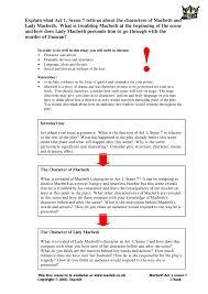 ks macbeth act teachit english 5 preview