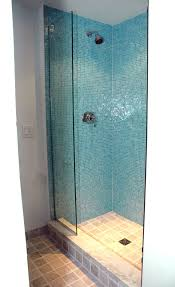 bathroom glass tile shower glass mosaic tile shower granite wall brenner remodeling work gallery