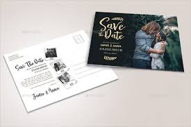 22 Save The Date Postcard Templates Free Sample Example