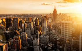 New York Sunset Wallpapers - Top Free ...