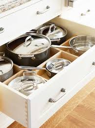 kitchen storage cabinets for pots and pans. Wonderful Storage Kitchen Cabinet For Storage Of Pots And Pans Nice Organization What  Would Normally Create A Pile Pans In Your Cabinets From Better Homes U0026 Gardens Intended Storage Cabinets For Pots And Pans