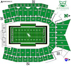 University Of North Texas Apogee Stadium Denton Texas